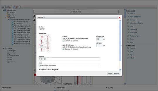 Componenti per la redazione pratica di manuali tecnici